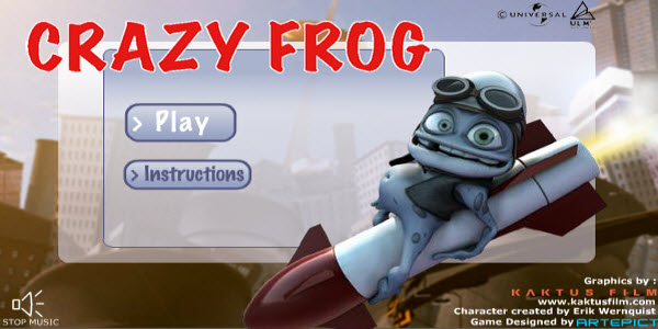 Crazy Frog Flash Game