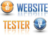 website tester banner