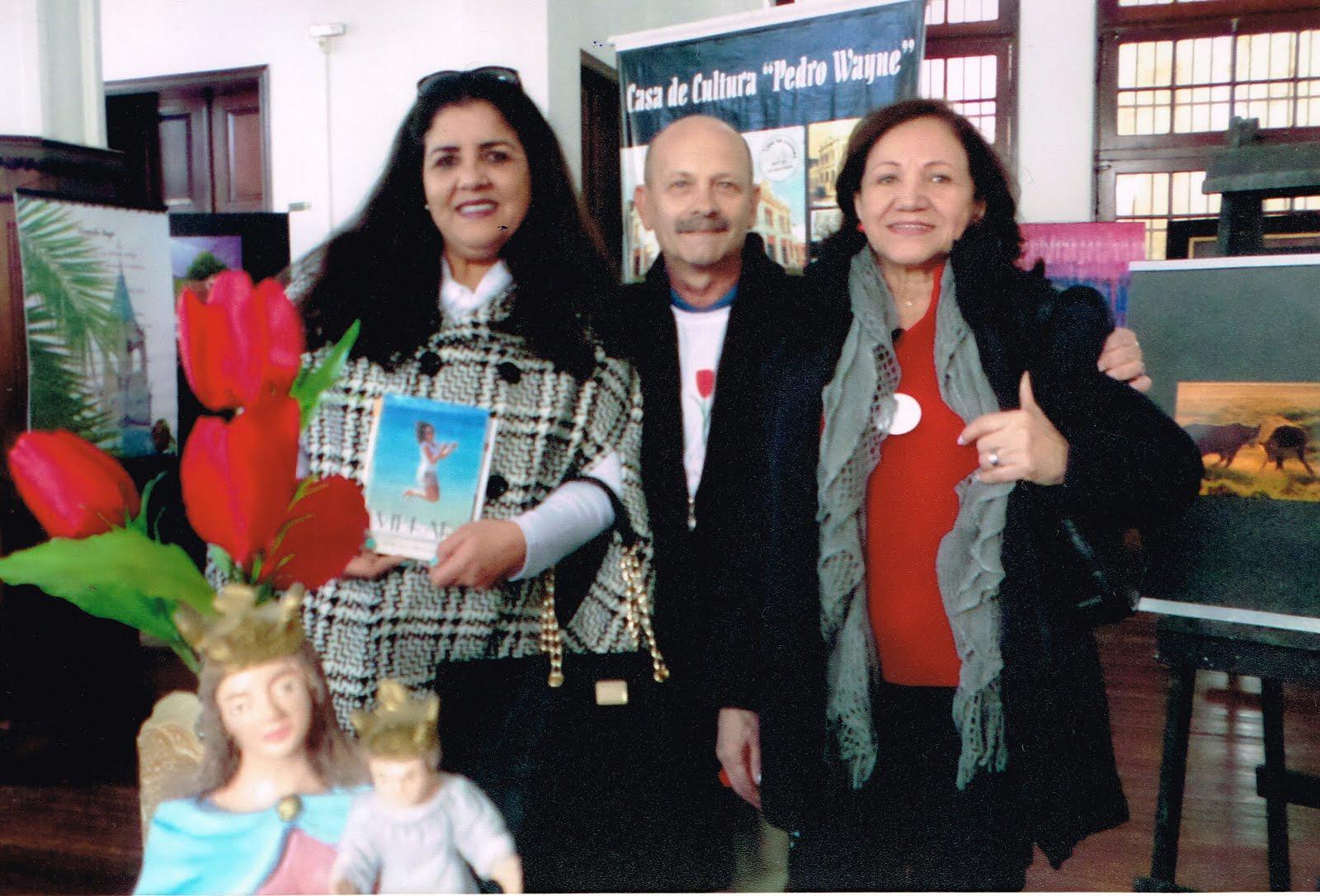 Manoel Ianzer, Claudia Romariz e Lú Ianzer