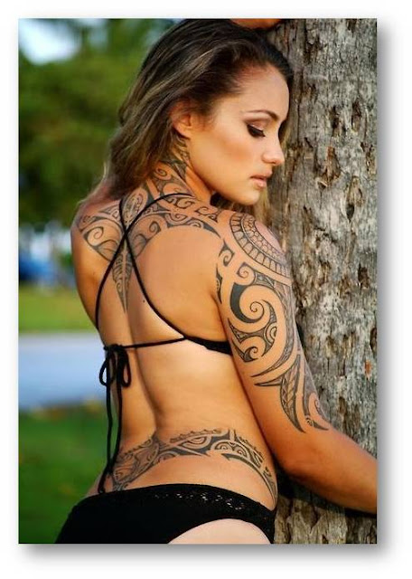 Latest Women Tribal Tattoos