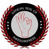 Your Official Seal of Awesomeness