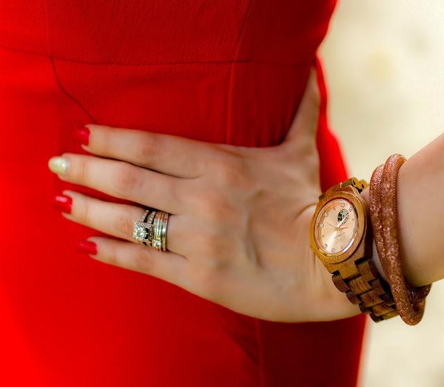 JORD Women's Watch , Swarovski Stardust Bracelet