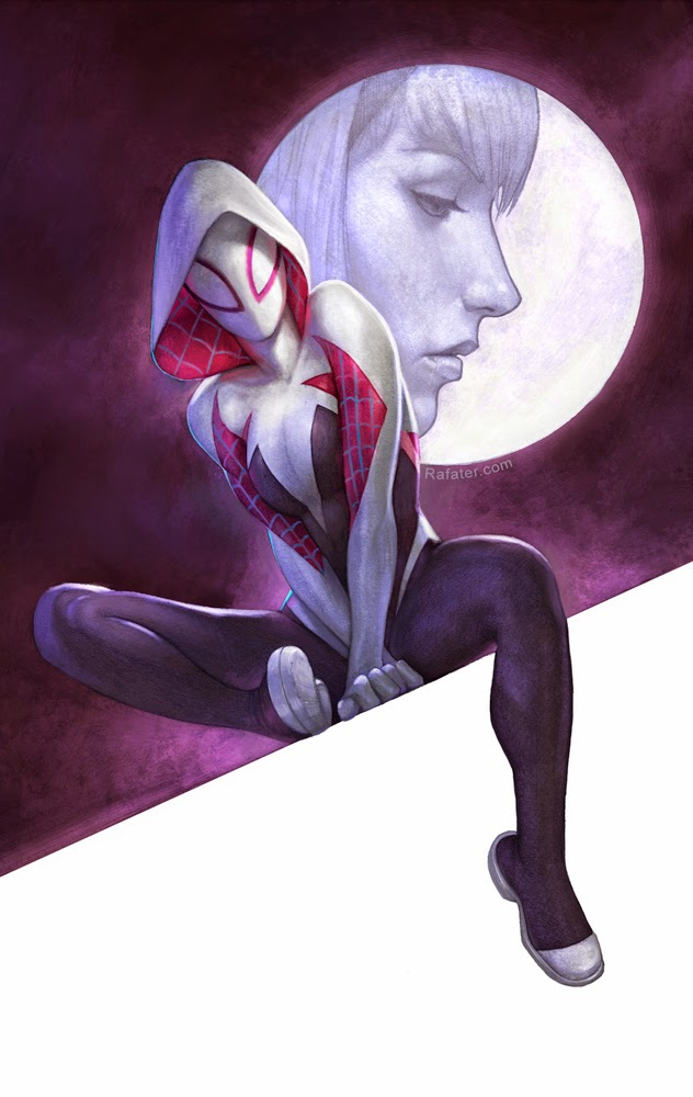 Spider-gwen cover by rafater