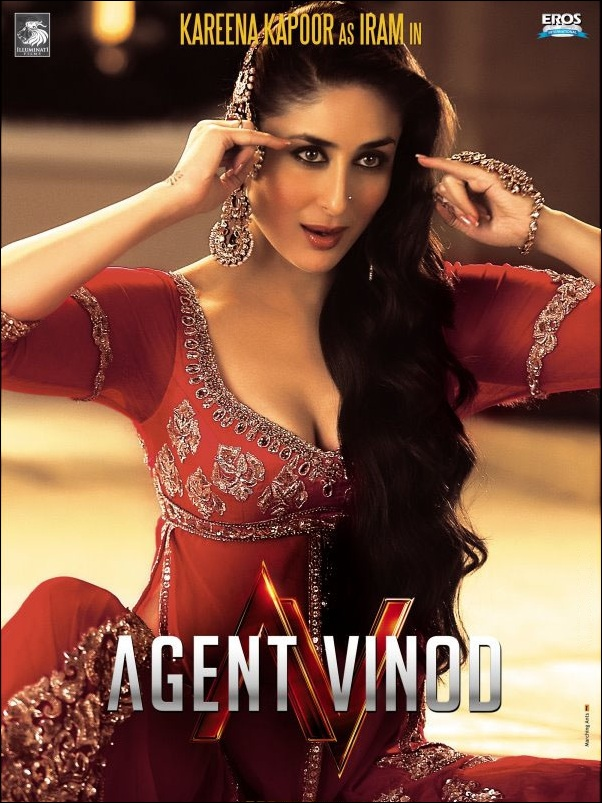 Agent Vinod (2012)  SL MZP - Saif Ali Khan, Kareena Kapoor, Gulshan Grover, Prem Chopra, Ravi Kissen, Ram Kapoor, Ann Lee Roberts, Adil Hussain, Malika Haydon, Anshuman Singh