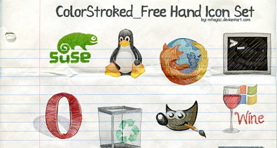 Free Hand Icons Sets