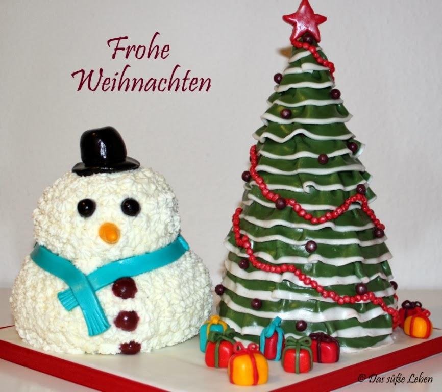 Rezept Weihnachtsbaum Schneemann Torte Das Susse Leben