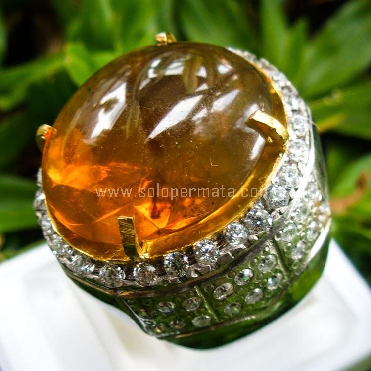 Cincin Batu Fire Opal - SP520