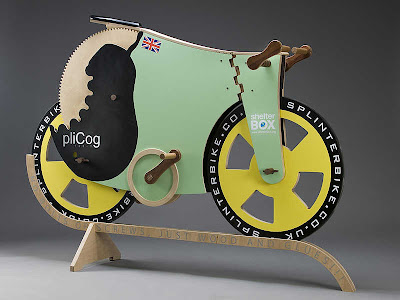 Modifikasi Sepeda Fixie Kayu
