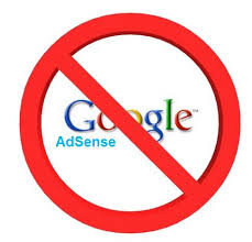 Google Adsense Disapproved