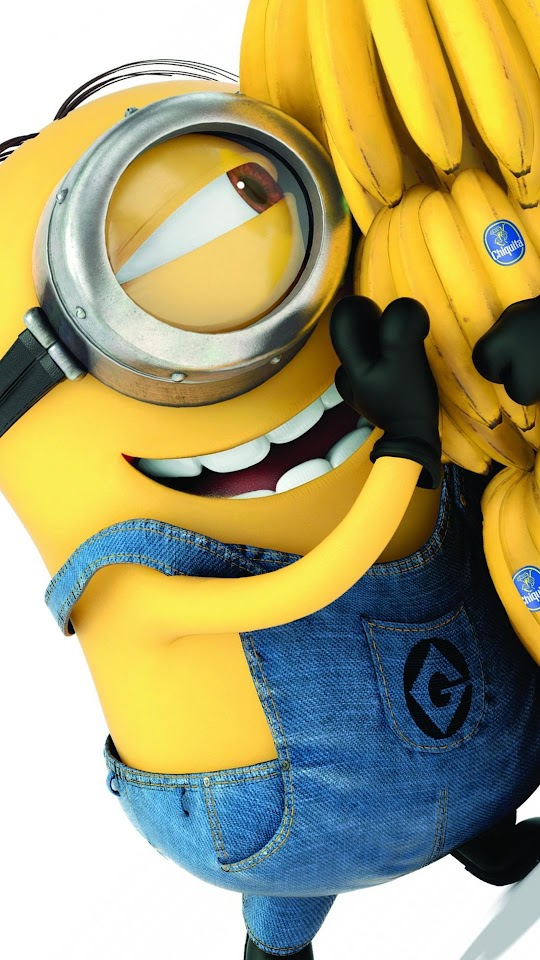 Minions 2015 Banana Galaxy Note HD Wallpaper