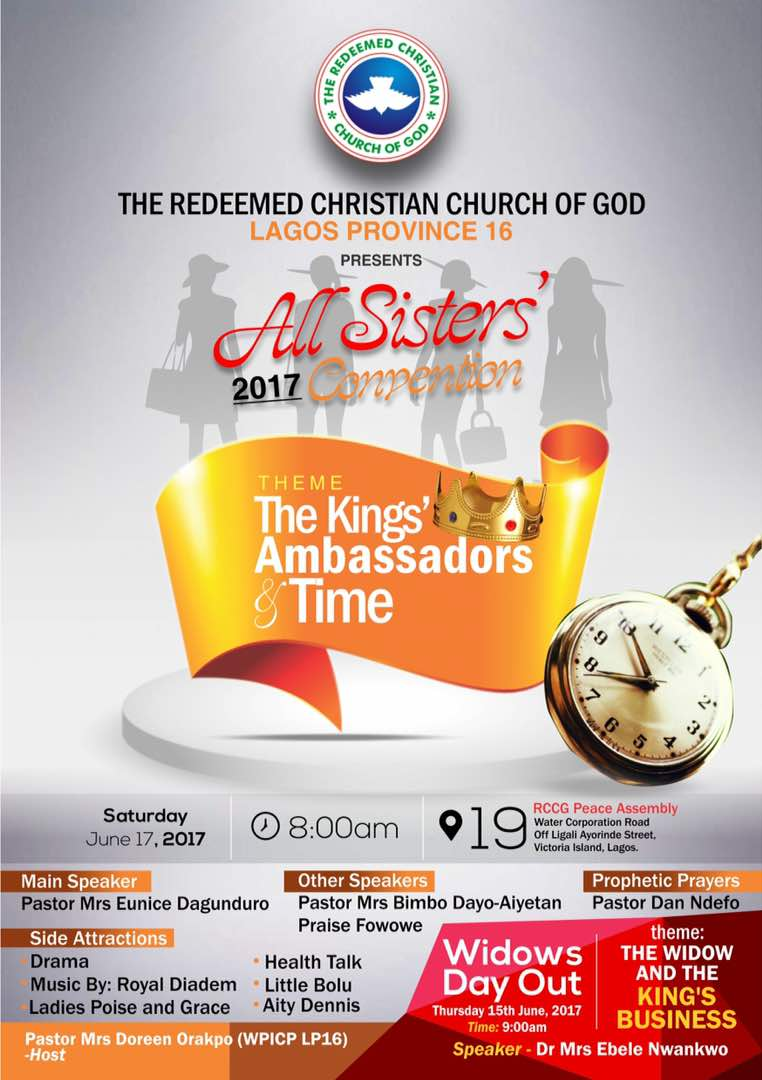 RCCG All Sisters' 2017 Convention