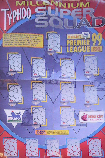 Football cartophilic info exchange merlin premier for Epl table 98 99