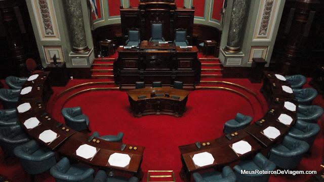Senado no Palácio Legislativo - Montevidéu, Uruguai