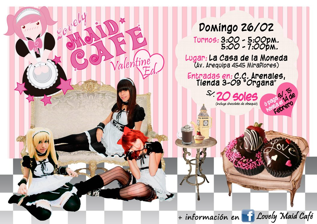 Lovely Maid Café ? Valentine Ed.