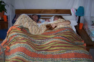 Image: Family bed by Begababy on Photobucket