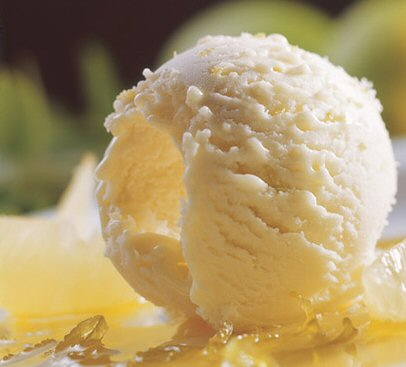 Free Recipe for Homemade Ice Cream: Cool Lemon Ice Cream Recipe