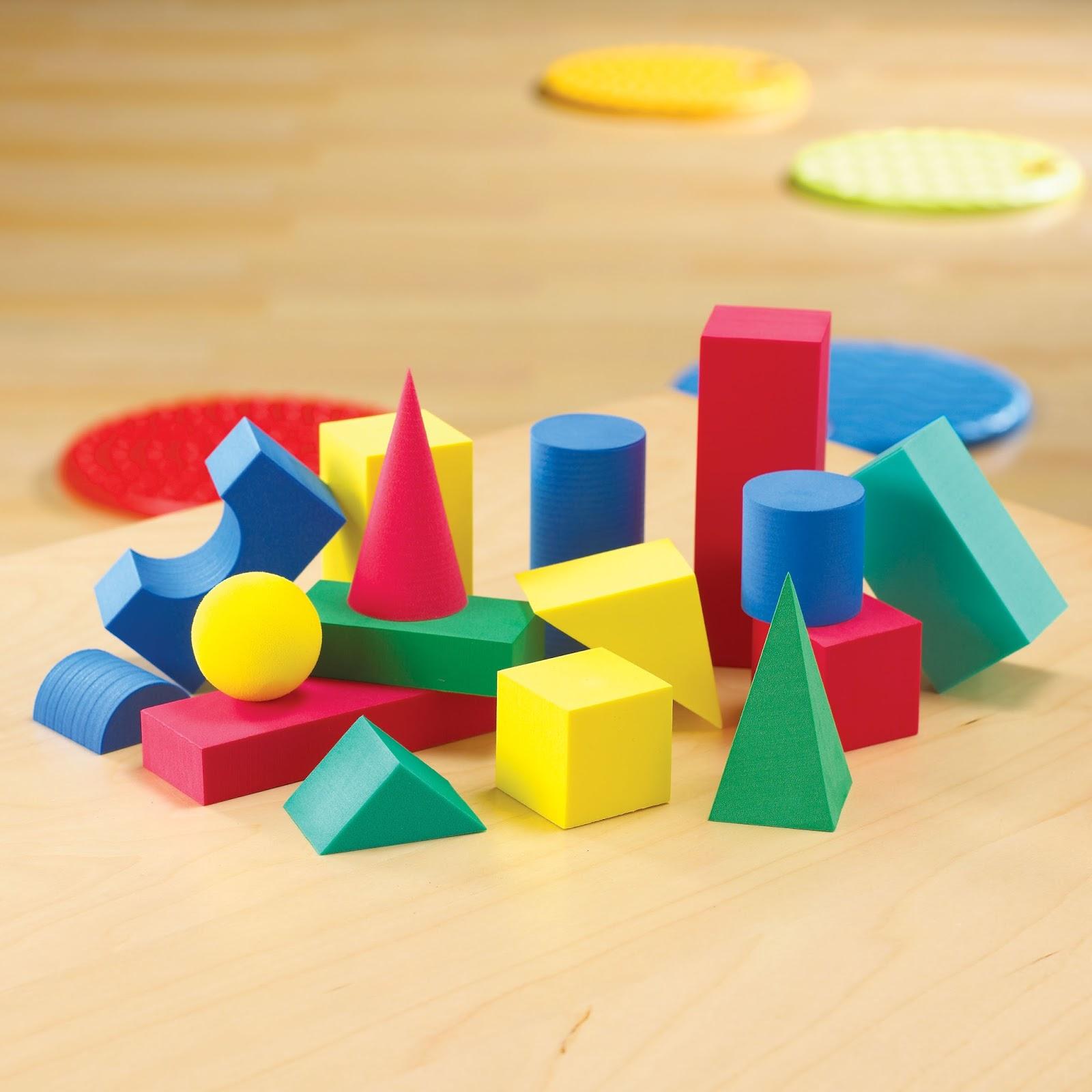 edunikum kegel kugel w rfel rechteckiges prisma pyramide zylinder aus schaumstoff f r. Black Bedroom Furniture Sets. Home Design Ideas