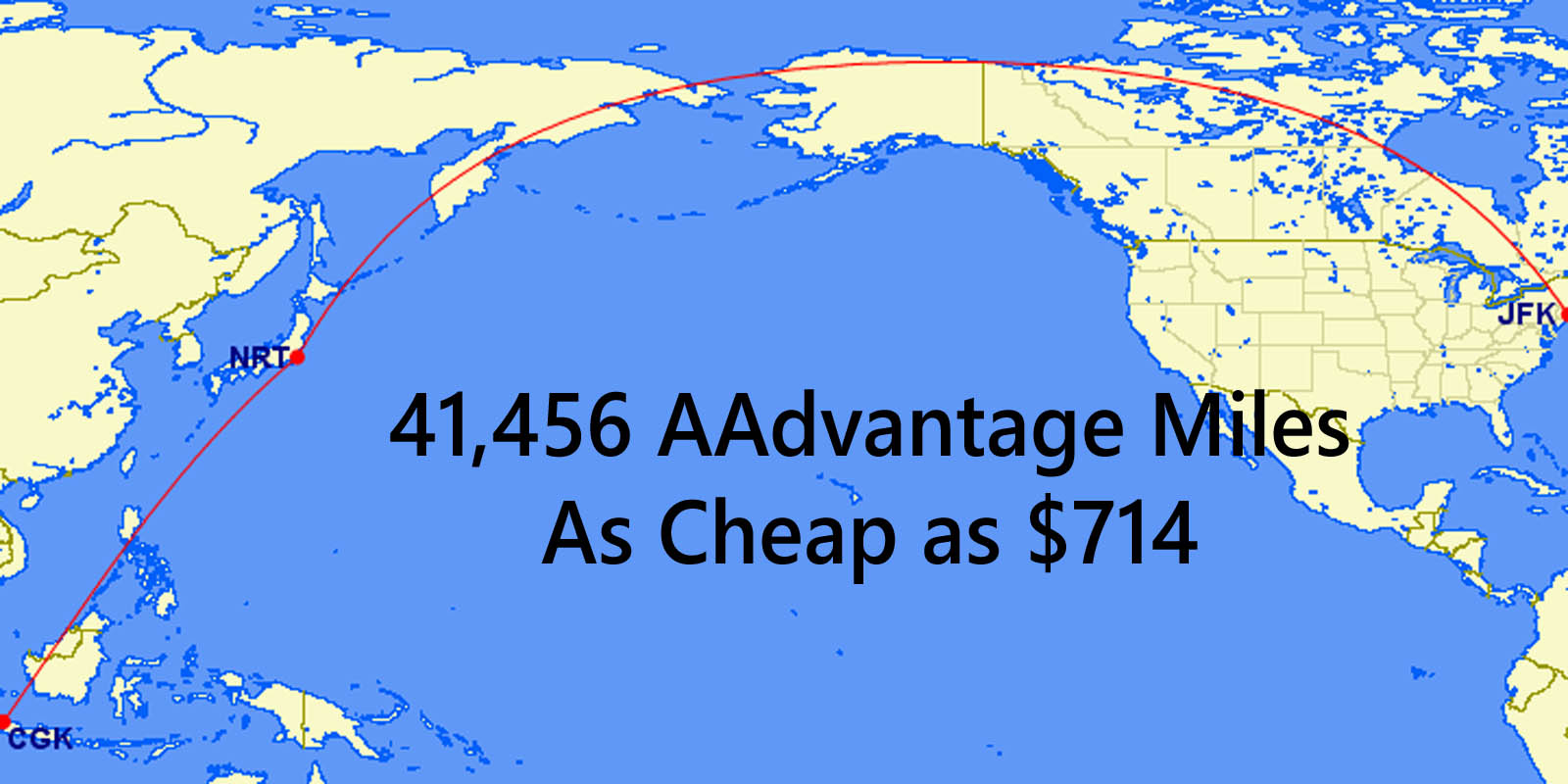 maybe you saw our earlier post on omaha to jakarta american airlines aadvantage mileage run well we have another mega mileage run this time from new york