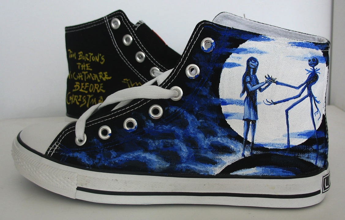 Nightmare Before Christmas Converse Nightmare before christmas