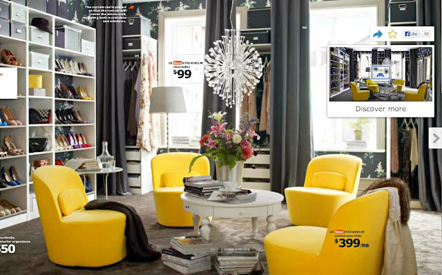 Yi Wei Lim, yiweilim, IKEA, IKEA Catalog 2014, Stockholm, interior design, yellow