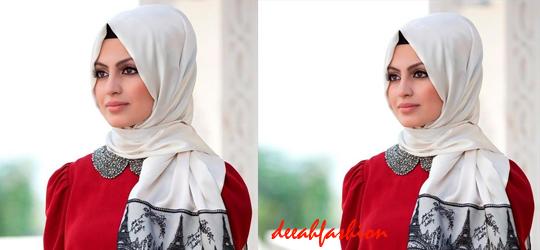 Jilbab Simple ala Timur Tengah Arabic Style