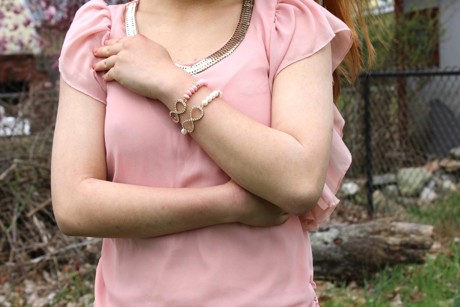 Rue 21 Infinity Bracelets