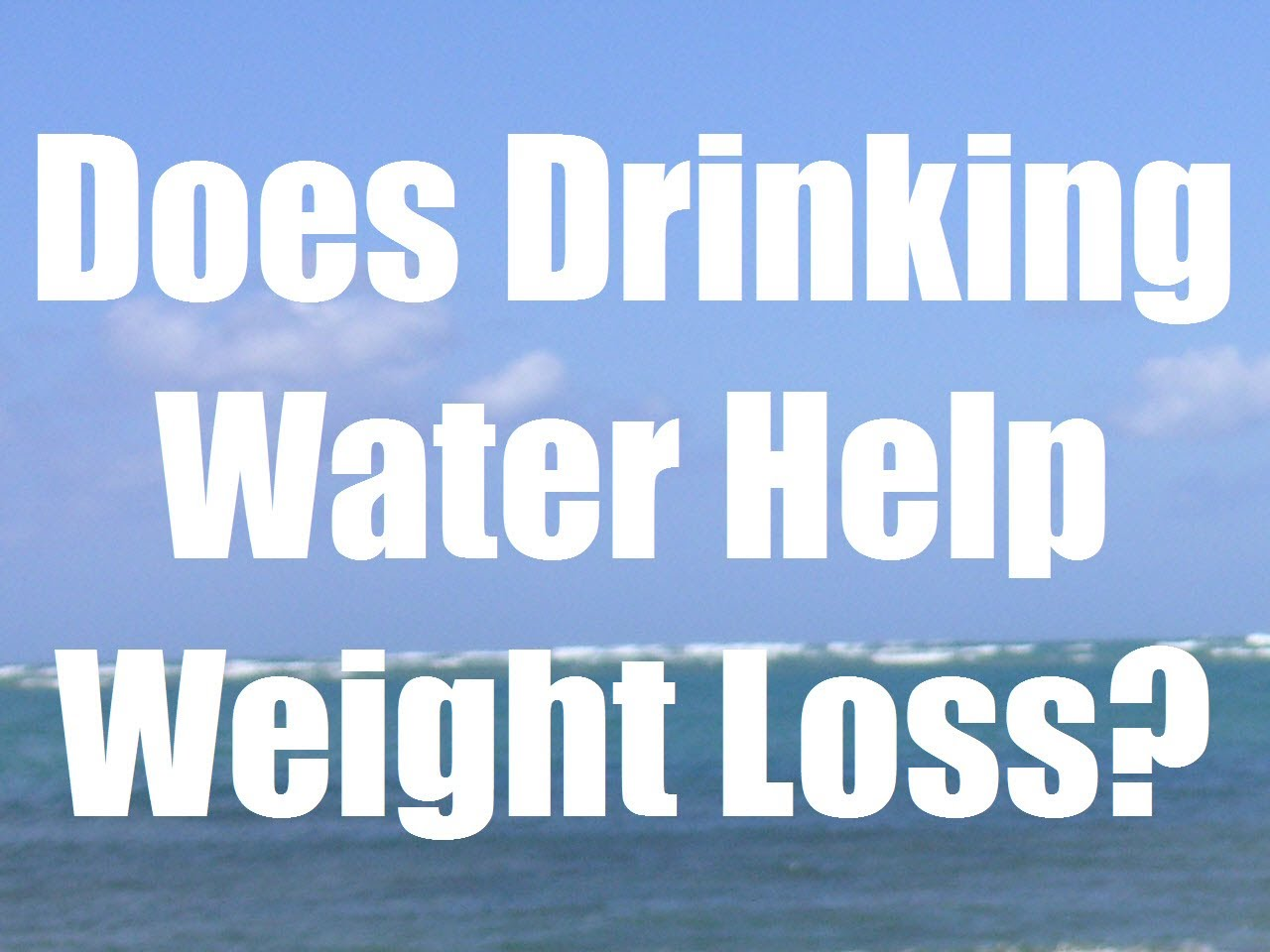 drinking water to lose weight ~ go beautilicious