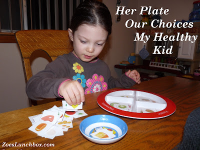 myplate zoe's lunchbox food group