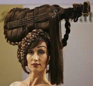 rambut unik