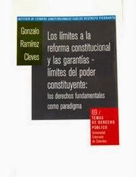 Los límites a la reforma constitucional y garantías límites al poder constituyente