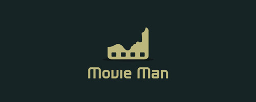 Movie Man Logo Design