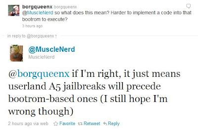 A5-Prozessor erschwert Jailbreaks?