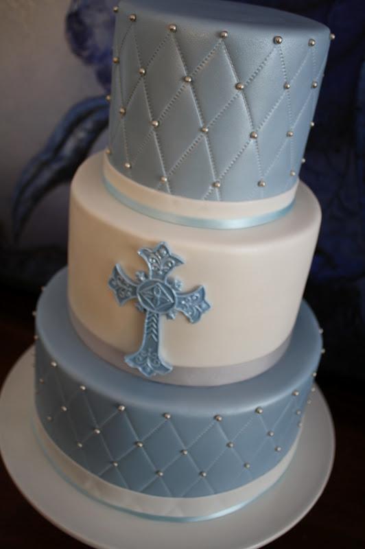Sandy S Cakes Thomas S Christening Cake