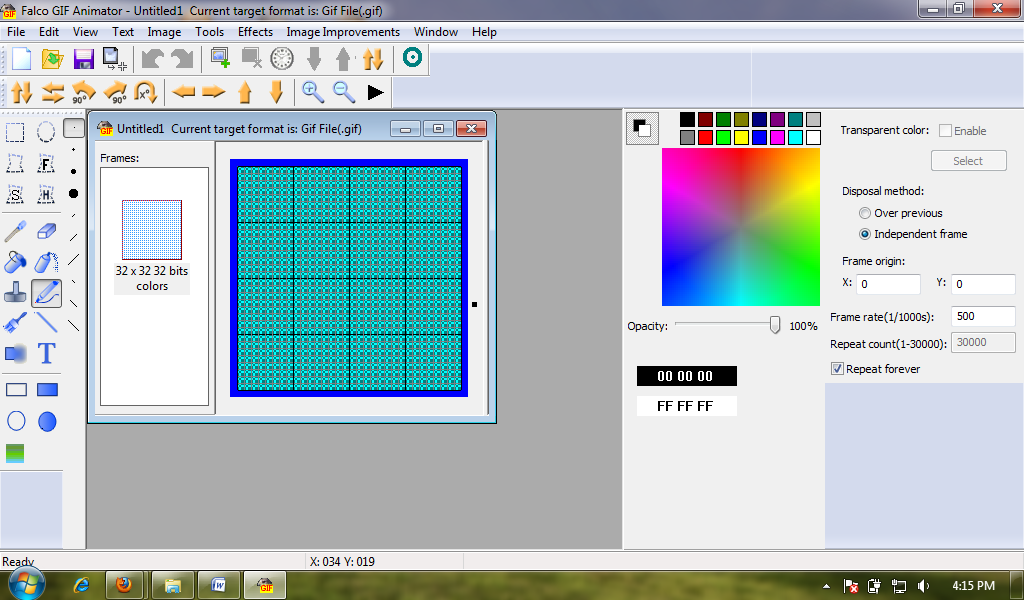 Easy GIF Animator Pro is software that corresponds to its characteristics,