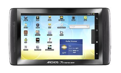 Archos 70 Internet Tablet 8 GB für 129 Euro inklusive Versandkosten bei Amazon