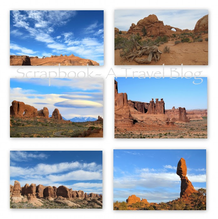 Landscapes from Arches National Park Utah