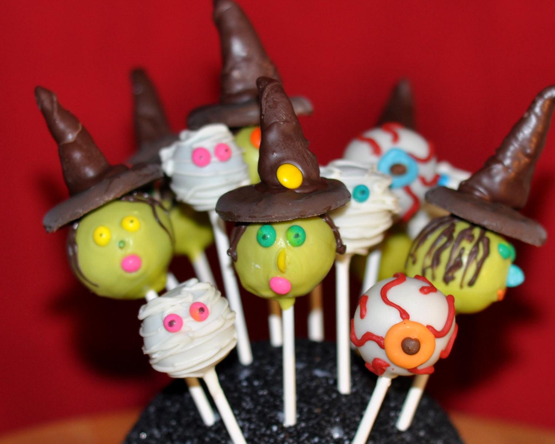 Halloween Cake Pop Decorating Ideas : Beki Cook s Cake Blog: Halloween Cake Pops