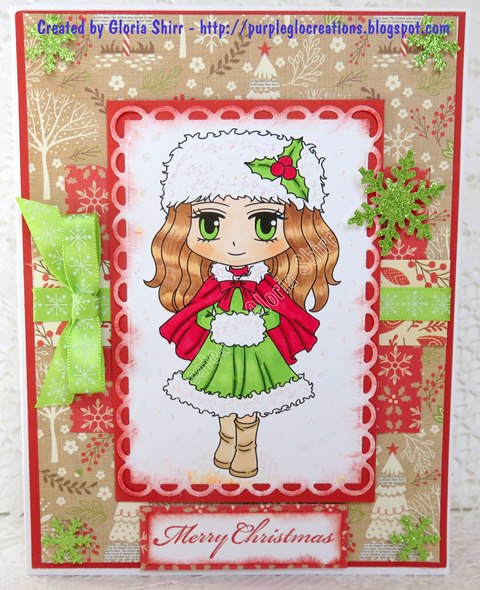 Featured Card for Starz Stampz Challenge
