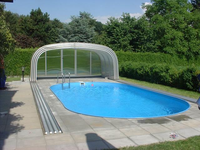 desain rumah ada kolam renang terkini