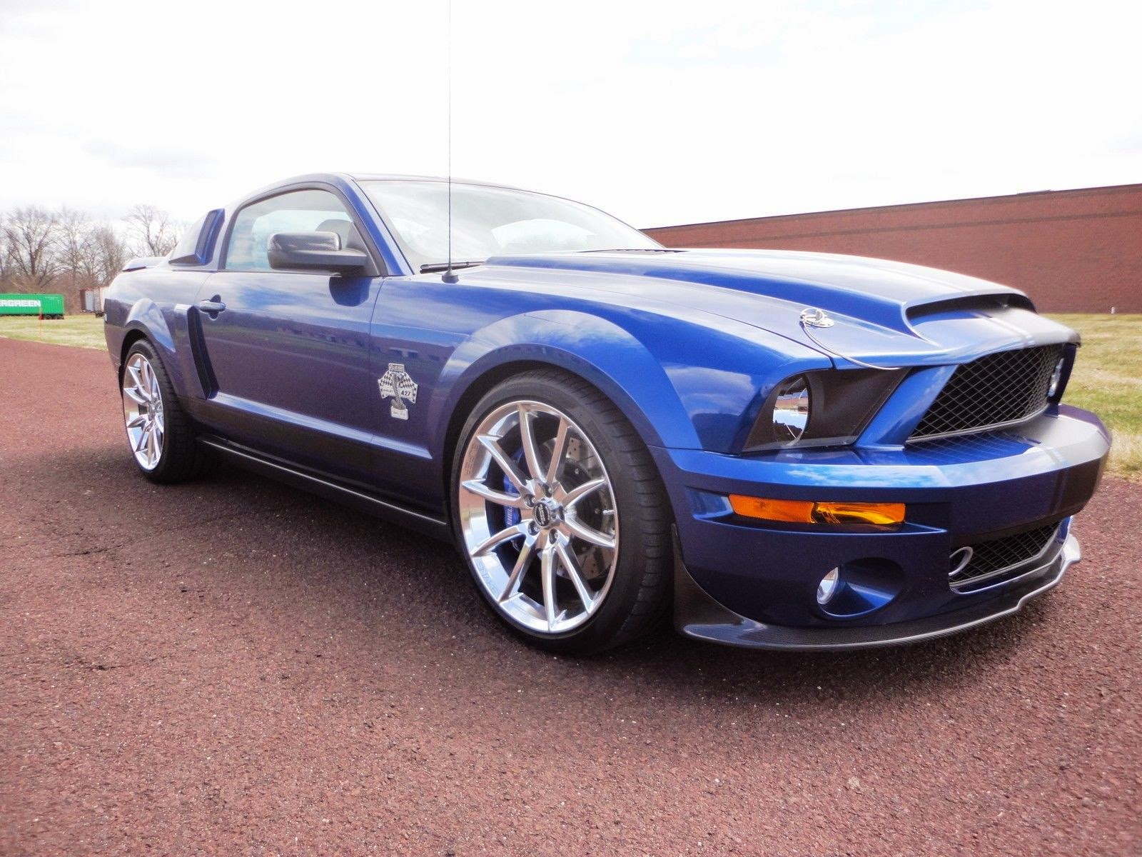 Ford mustang shelby gt500 super snake 725hp