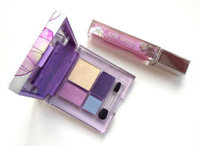 Lise Watier Aquarella Spring 2012 Lipgloss and Eyeshadow Quad