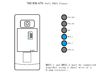 Download Nokia 700 RM-670 Pin Out Fbus Selection