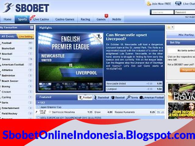 sbobet online indonesia resmi