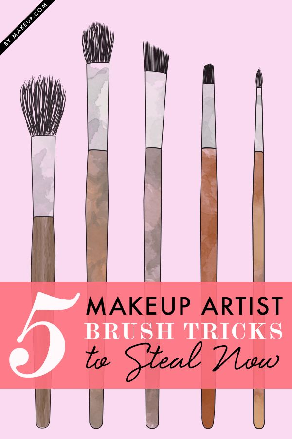 5 Makeup Artist Brush Tricks to Steal Now