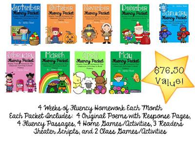 https://www.teacherspayteachers.com/Product/Fluency-Homework-Bundle-September-May-1356716