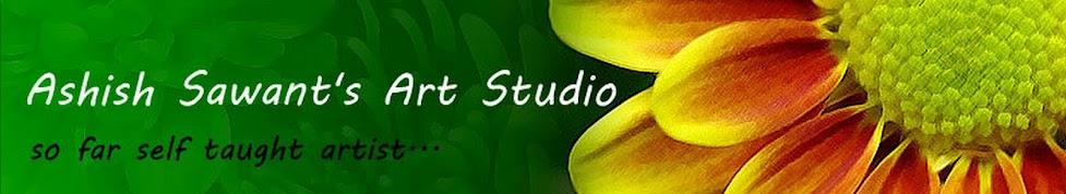 Ashish Sawant's Art Studio