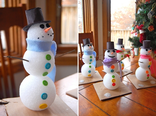 Creaciones innovadoras arte manualidades manualidades - Manualidades faciles de navidad para ninos ...