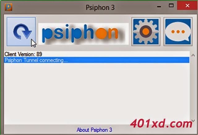 Tutorial Internet Gratis Full Speed Menggunakan Software Psiphon