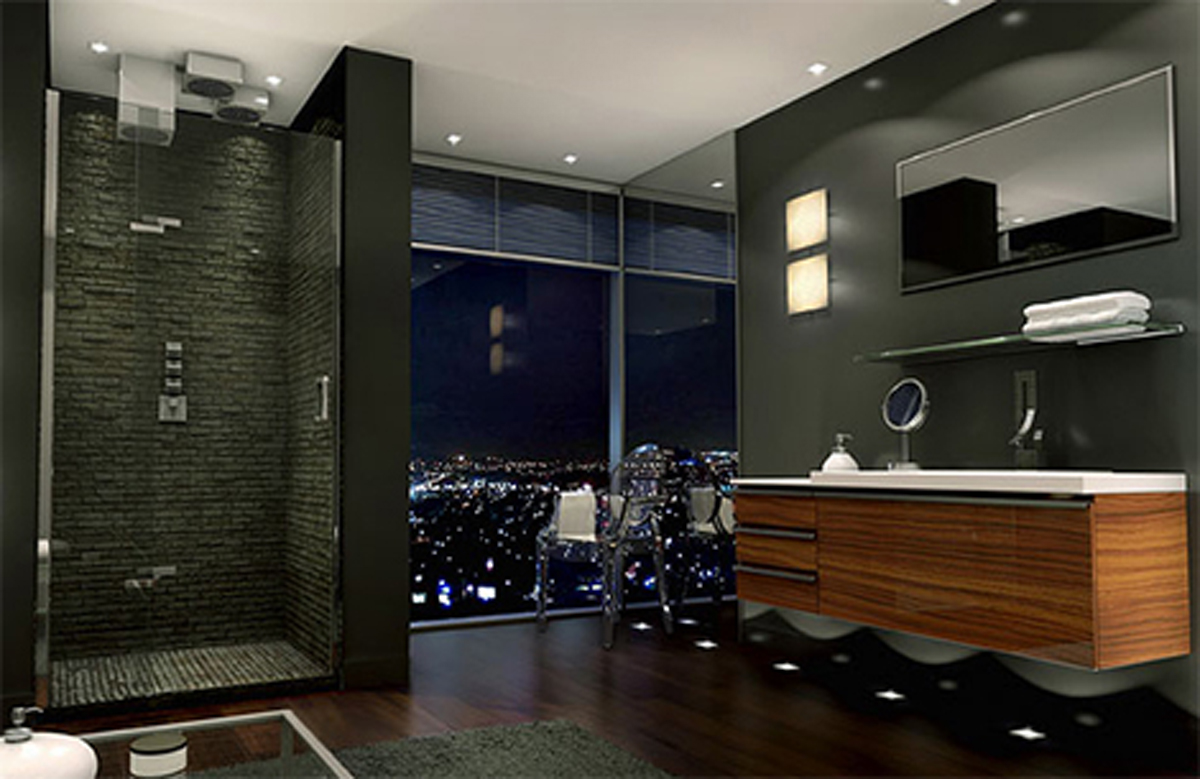 Desain Design Kamar Mandi Modern 13