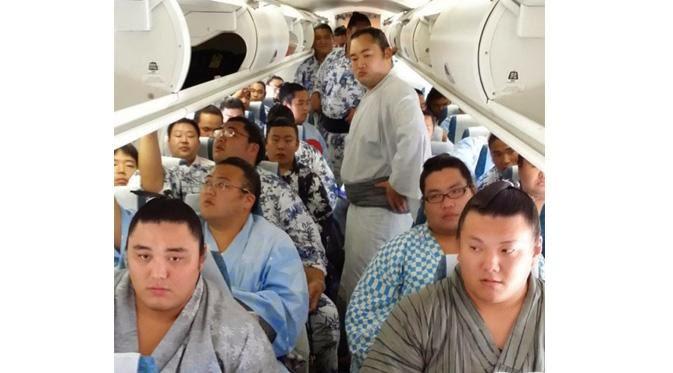 Rombongan Sumo Jepang